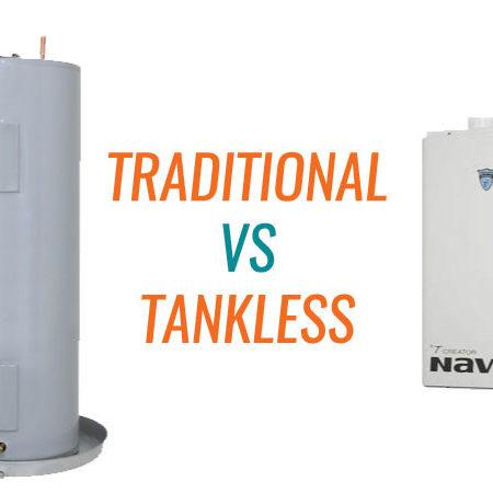 Hot Water Cost! Tank vs. Tank-less