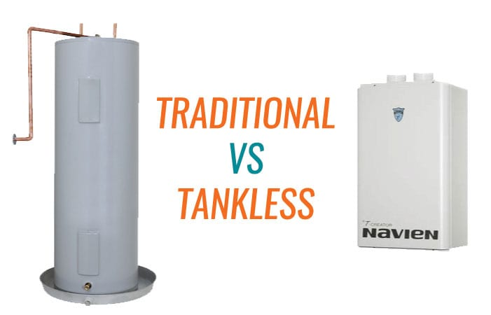Hot Water Cost! Tank vs. Tank-less